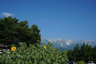 白馬の夏景色
