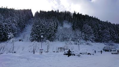 シーズン初の大雪