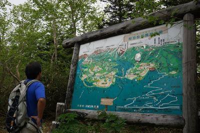 栂池自然園の様子