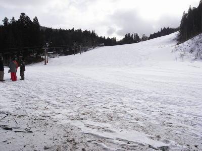 雪少ないハイランド1