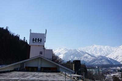 ホテルの屋上