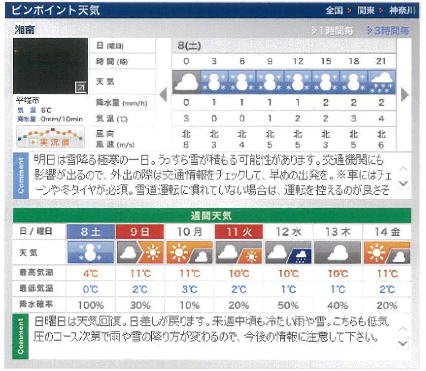 明日 の 天気 神奈川