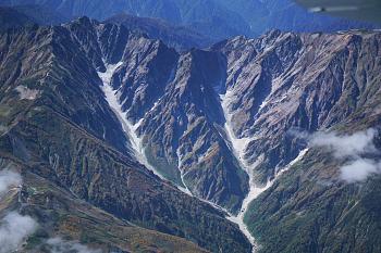 唐松沢雪渓が氷河認定