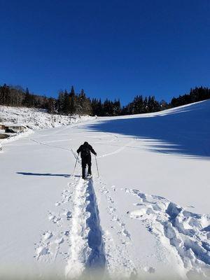 ハイランドスキー場スノーシュー
