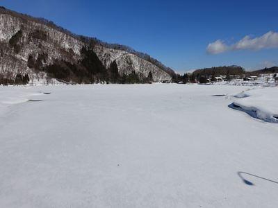 仁科三湖の結氷