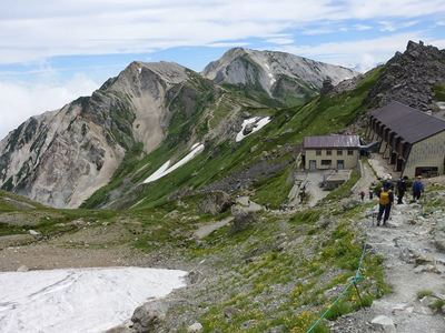 白馬岳下山コース