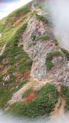 唐松稜線から五竜へ